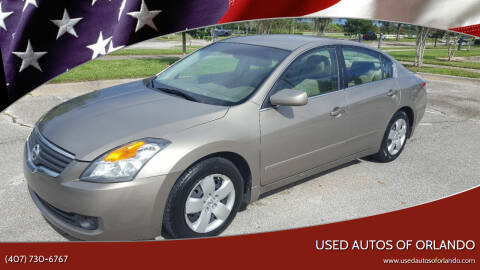 2008 Nissan Altima for sale at Used Autos of Orlando in Orlando FL