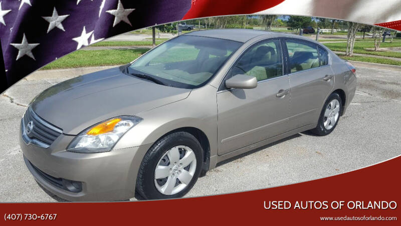 2008 Nissan Altima for sale at Used Autos of Orlando in Orlando FL