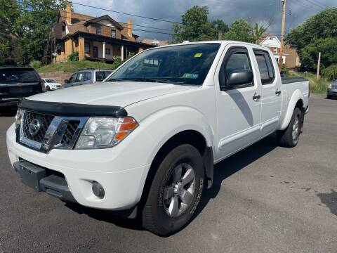 2012 Nissan Frontier for sale at Fellini Auto Sales & Service LLC in Pittsburgh PA