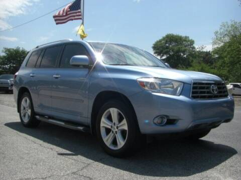 2010 Toyota Highlander for sale at Manquen Automotive in Simpsonville SC