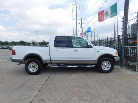 2003 Ford F-150 for sale at FAIR DEAL AUTO SALES INC in Houston TX
