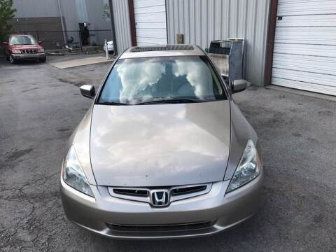 2003 Honda Accord for sale at Mitchell Motor Company in Madison TN