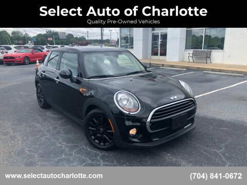 2017 MINI Hardtop 4 Door for sale at Select Auto of Charlotte in Matthews NC
