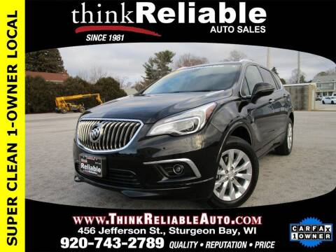 2017 Buick Envision for sale at RELIABLE AUTOMOBILE SALES, INC in Sturgeon Bay WI