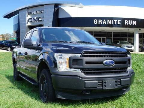2018 Ford F-150 for sale at GRANITE RUN PRE OWNED CAR AND TRUCK OUTLET in Media PA