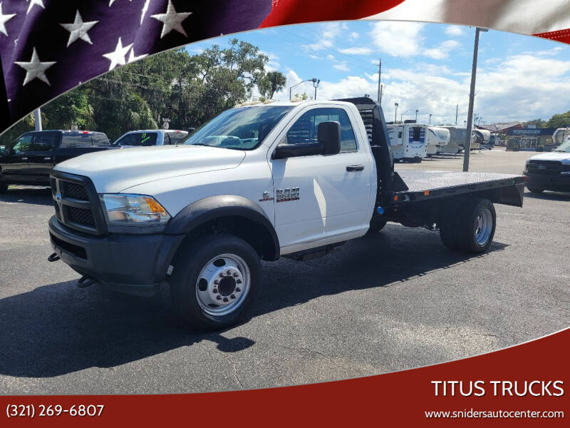 2013 RAM Ram Chassis 5500 for sale at Titus Trucks in Titusville FL