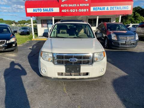 2010 Ford Escape for sale at Sandy Lane Auto Sales and Repair in Warwick RI