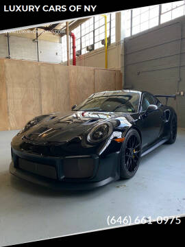 2018 Porsche 911 for sale at LUXURY CARS OF NY in Queens NY