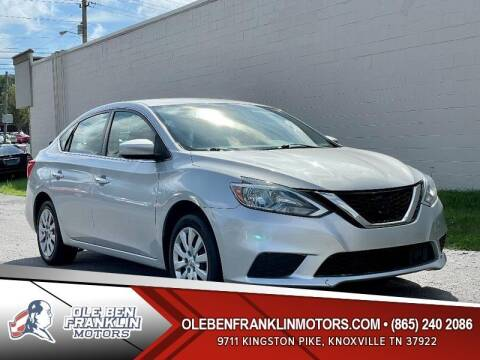 2018 Nissan Sentra for sale at Ole Ben Franklin Motors Clinton Highway in Knoxville TN
