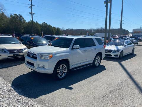 2011 Toyota 4Runner for sale at Billy Ballew Motorsports in Dawsonville GA
