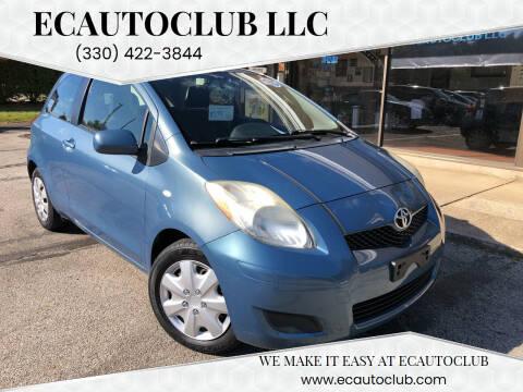 2010 Toyota Yaris for sale at ECAUTOCLUB LLC in Kent OH