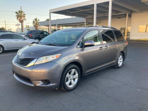 2012 Toyota Sienna for sale at PRICE TIME AUTO SALES in Sacramento CA