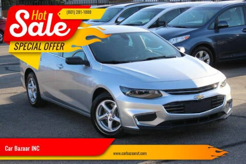 2018 Chevrolet Malibu for sale at Car Bazaar INC in Salt Lake City UT