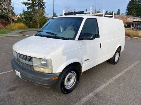 2000 Chevrolet Astro Cargo for sale at Washington Auto Loan House in Seattle WA
