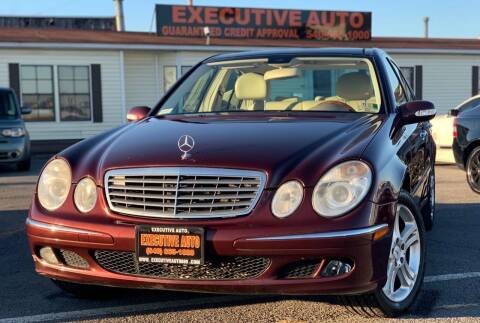 2006 Mercedes-Benz E-Class for sale at Executive Auto in Winchester VA