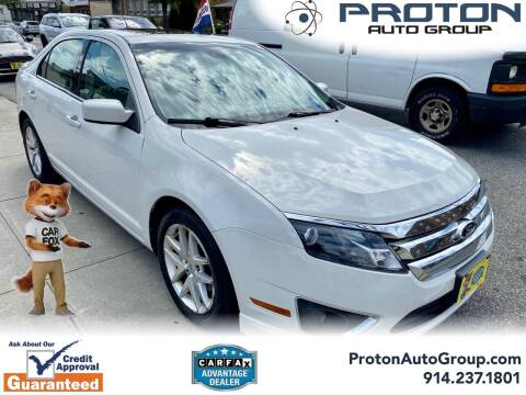 2012 Ford Fusion for sale at Proton Auto Group in Yonkers NY