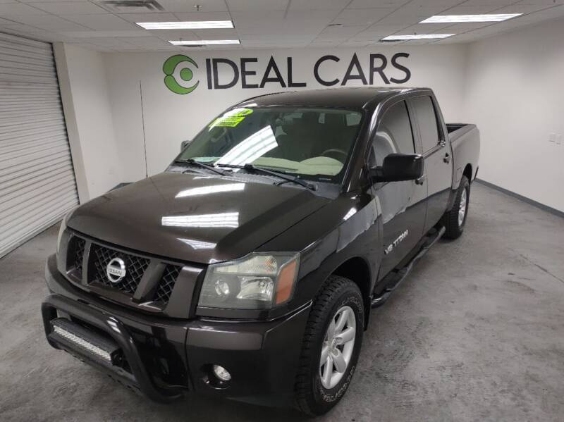 2014 Nissan Titan for sale at Ideal Cars Broadway in Mesa AZ