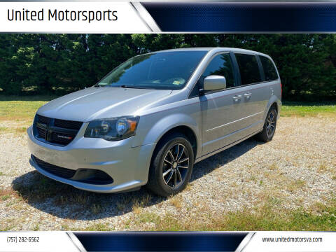 2015 Dodge Grand Caravan for sale at United Motorsports in Virginia Beach VA