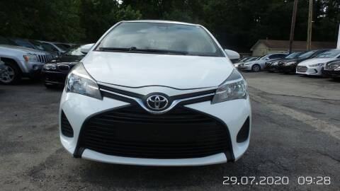 2017 Toyota Yaris for sale at E-Motorworks in Roswell GA