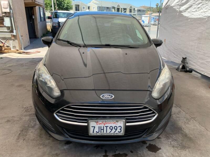 2015 Ford Fiesta for sale at Aria Auto Sales in El Cajon CA