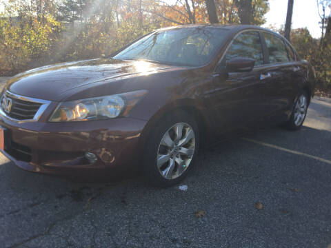 2009 Honda Accord for sale at BRATTLEBORO AUTO SALES in Brattleboro VT