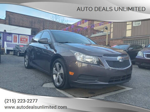 2011 Chevrolet Cruze for sale at AUTO DEALS UNLIMITED in Philadelphia PA