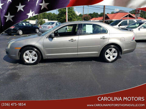 2008 Ford Fusion for sale at CAROLINA MOTORS in Thomasville NC