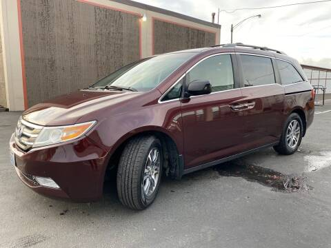 2012 Honda Odyssey for sale at Exelon Auto Sales in Auburn WA