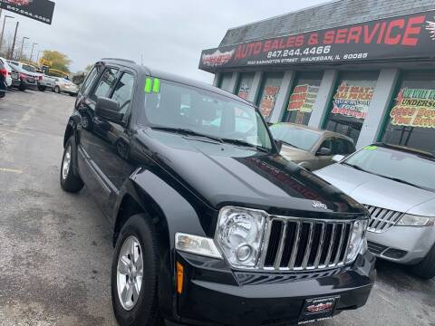 2011 Jeep Liberty for sale at Washington Auto Group in Waukegan IL