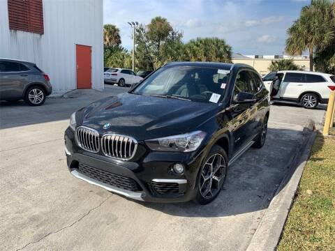 2018 BMW X1 for sale at Florida Fine Cars - West Palm Beach in West Palm Beach FL