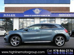 2015 Mercedes-Benz GLA for sale at Highline Group Motorsports in Lowell MA