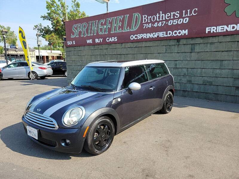 2008 MINI Cooper Clubman for sale at SPRINGFIELD BROTHERS LLC in Fullerton CA