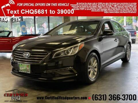 2015 Hyundai Sonata for sale at CERTIFIED HEADQUARTERS in Saint James NY