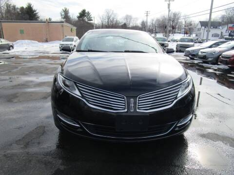 2014 Lincoln MKZ for sale at Route 12 Auto Sales in Leominster MA