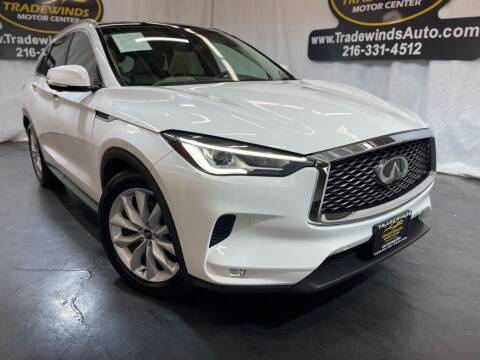 2019 Infiniti QX50 for sale at TRADEWINDS MOTOR CENTER LLC in Cleveland OH
