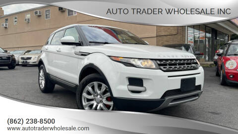 2015 Land Rover Range Rover Evoque for sale at Auto Trader Wholesale Inc in Saddle Brook NJ