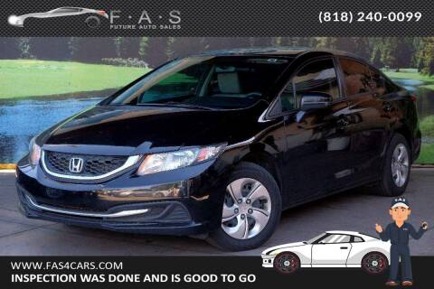 2015 Honda Civic for sale at Best Car Buy in Glendale CA