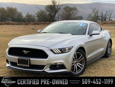 2015 Ford Mustang for sale at Premier Auto Group in Union Gap WA