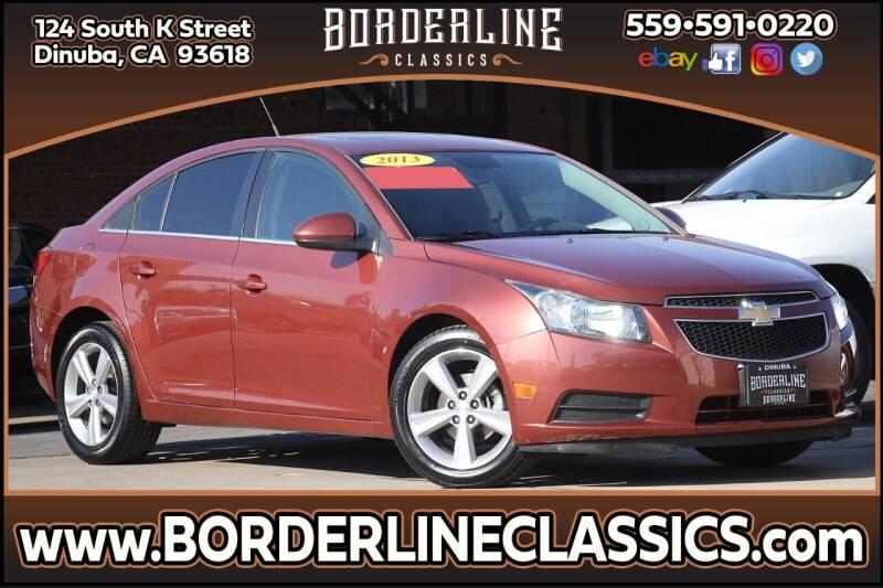 2013 Chevrolet Cruze for sale at Borderline Classics in Dinuba CA