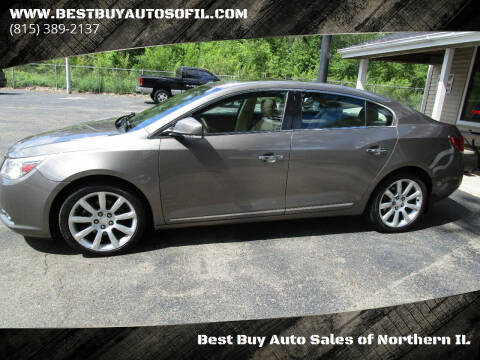 2011 Buick LaCrosse for sale at Best Buy Auto Sales of Northern IL in South Beloit IL