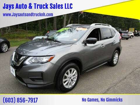 2017 Nissan Rogue for sale at Jays Auto & Truck Sales LLC in Loudon NH