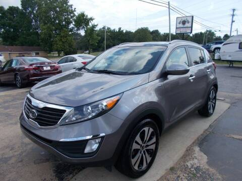 2012 Kia Sportage for sale at High Country Motors in Mountain Home AR