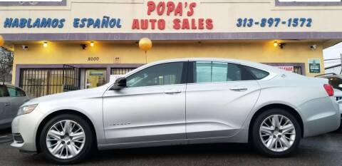 2015 Chevrolet Impala for sale at Popas Auto Sales in Detroit MI
