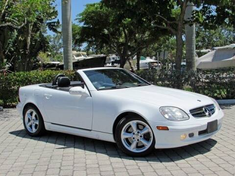 2001 Mercedes-Benz SLK for sale at Auto Quest USA INC in Fort Myers Beach FL