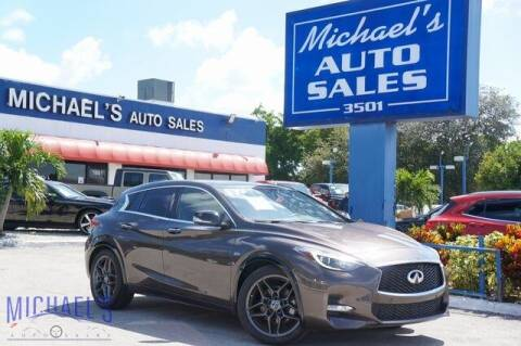 2017 Infiniti QX30 for sale at Michael's Auto Sales Corp in Hollywood FL