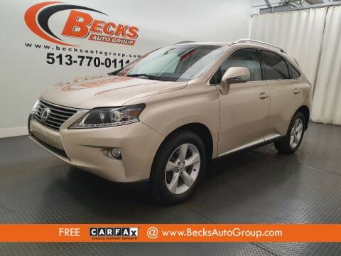 2013 Lexus RX 350 for sale at Becks Auto Group in Mason OH