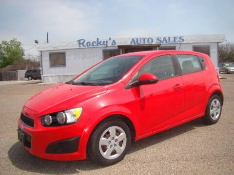 2016 Chevrolet Sonic for sale at Rocky's Auto Sales in Corpus Christi TX