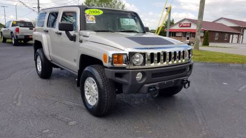 2006 HUMMER H3 for sale at Moores Auto Sales in Greeneville TN