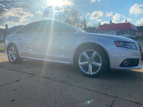 2012 Audi A4 for sale at Zs Auto Sales in Kenosha WI