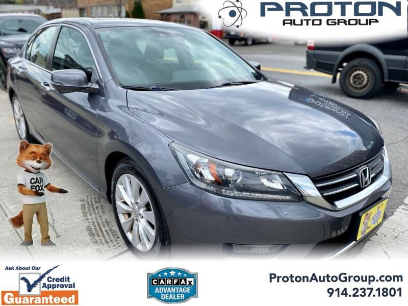 2014 Honda Accord for sale at Proton Auto Group in Yonkers NY